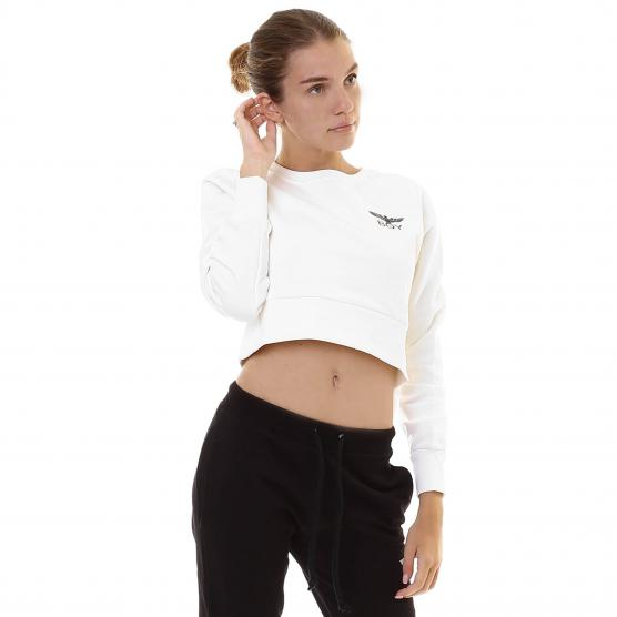 BOY LONDON FELPA CROP GIROCOLLO