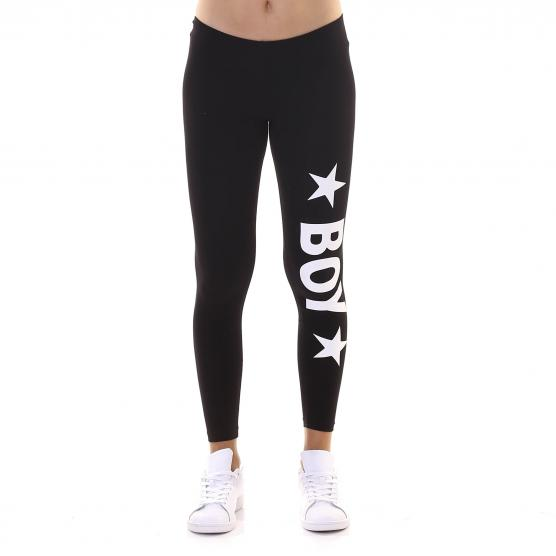BOY LONDON LEGGING COTONE STRETCH STAMPA GRANDE NERO