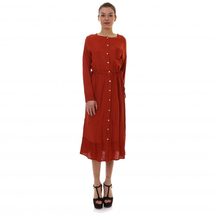 BUNF VISCOSE TENCEL DRESS
