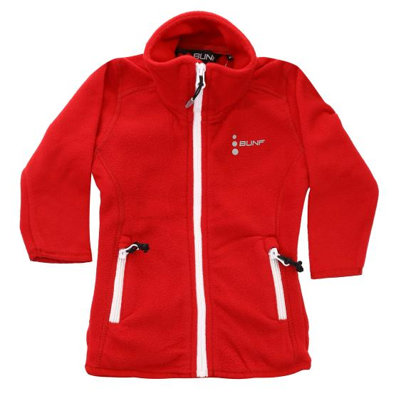 BUNF JUNIOR POLAR 200GSM FULL ZIP JACKET