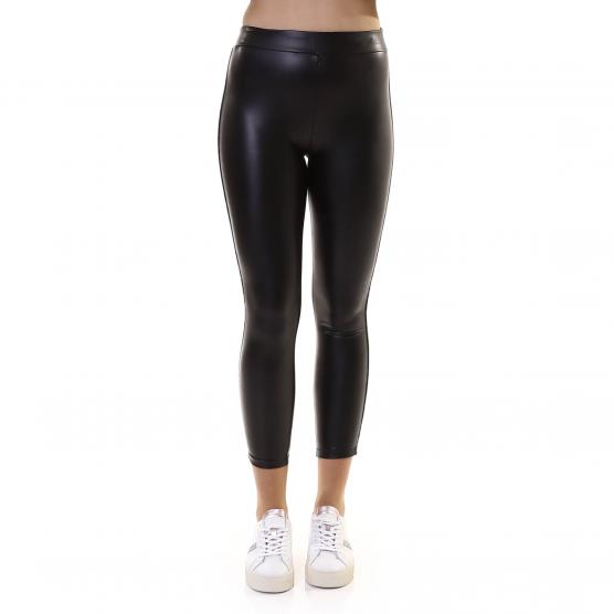 BUNF LEGGINGS ECOPELLE BLACK