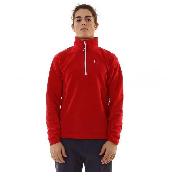 BUNF MAN HALF ZIP SHIRT MICROFLEECE