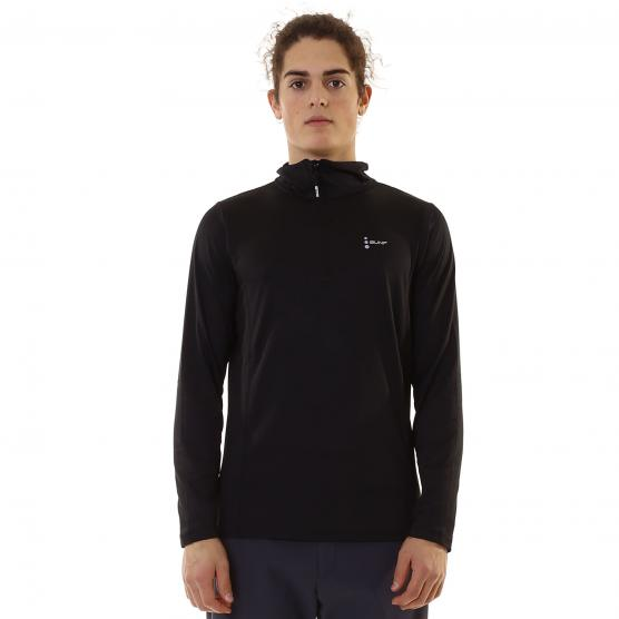 BUNF MAN HALF ZIP SHIRT STRETCH 210GSM