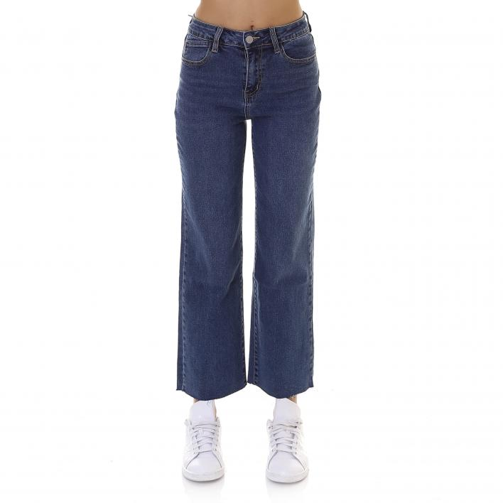 BUNF PANT DENIM MOM STRETCH