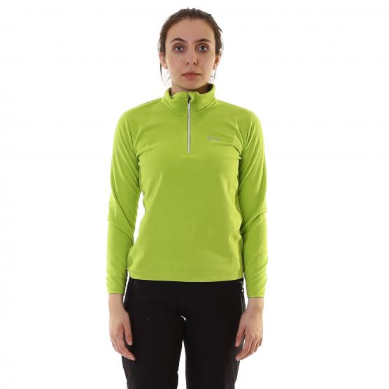BUNF WOMAN HALF ZIP SHIRT 160GSM