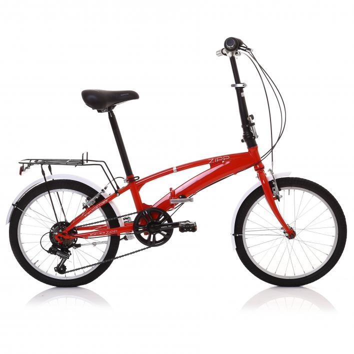 BUNFBIKE Foldable Bike Steel 20'' 6s