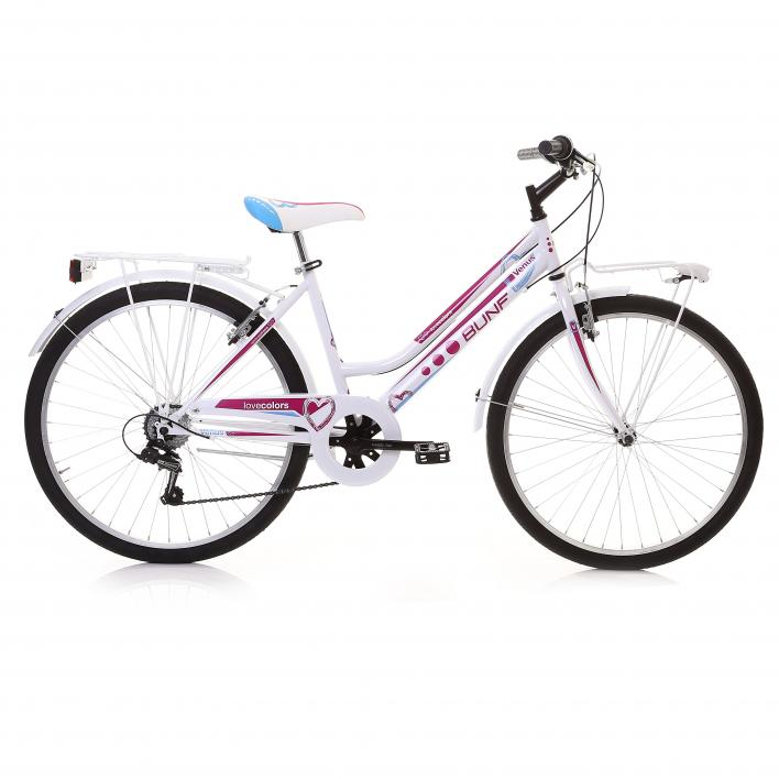 BUNFBIKE City Bike 24 Donna 6s