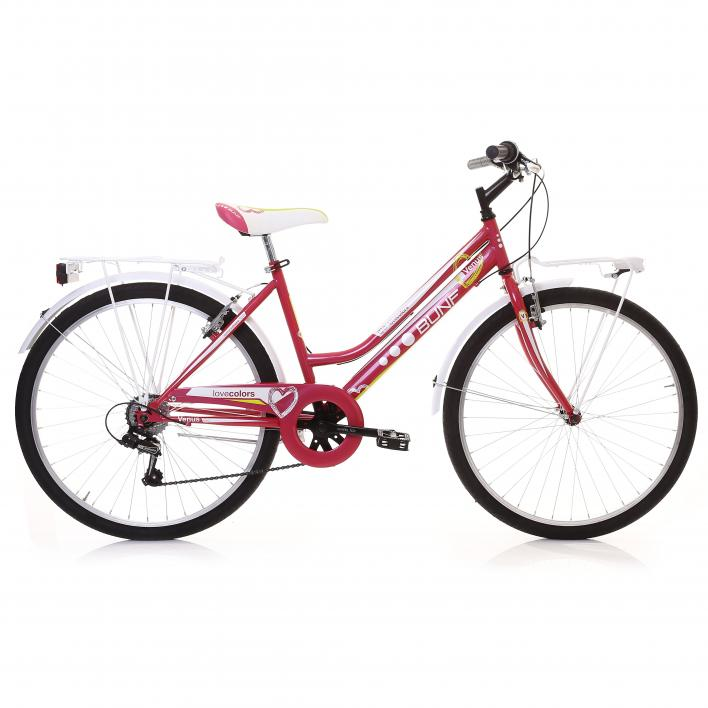 BUNFBIKE City Bike 26 Woman 6s
