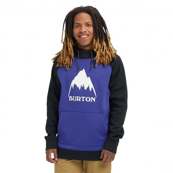 BURTON CROW BONDED PULLOVER HOODIE