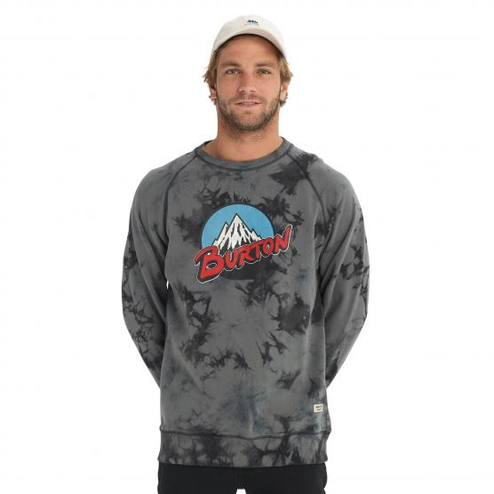 BURTON RETRO MOUNTAIN ORGANIC CREW