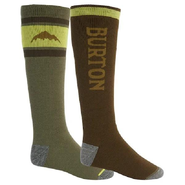 BURTON WEEKEND MIDWEIGHT SOCK TWO-PACK