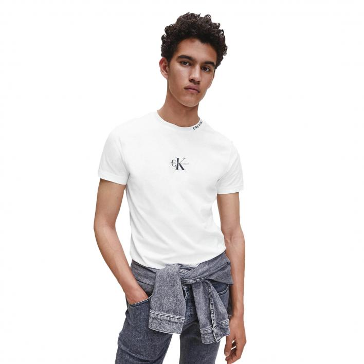CALVIN KLEIN JEANS CENTER MONOGRAM TEE