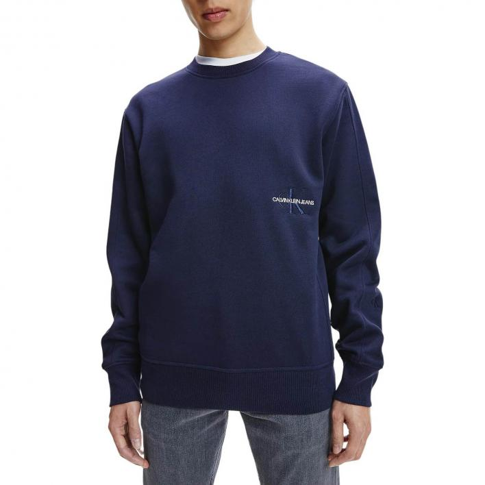 CALVIN KLEIN JEANS OFF PLACED ICONIC CREW NECK