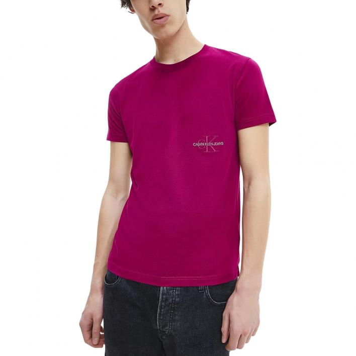 CALVIN KLEIN JEANS OFF PLACED ICONIC TEE