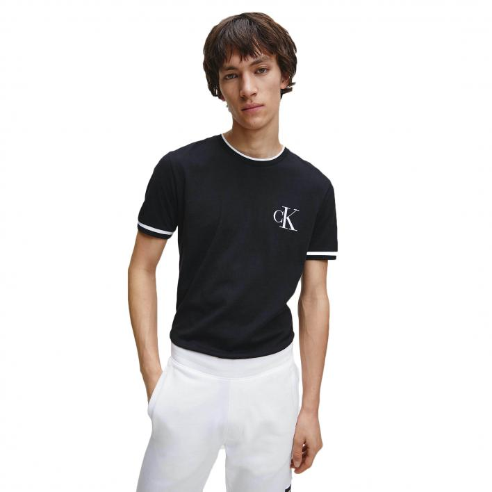 CALVIN KLEIN JEANS TIPPING ESSENTIAL TEE