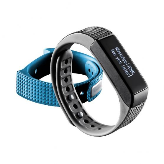 CELLULAR LINE BRACELET SPORT Buetooth BLUE TOUCH