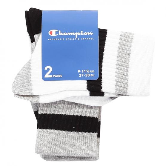 CHAMPION 2PP CREW SOCKS