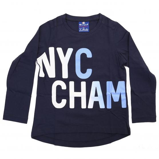 CHAMPION G-T SHIRT AUTH. COTTON JERSEY GRAPHIC
