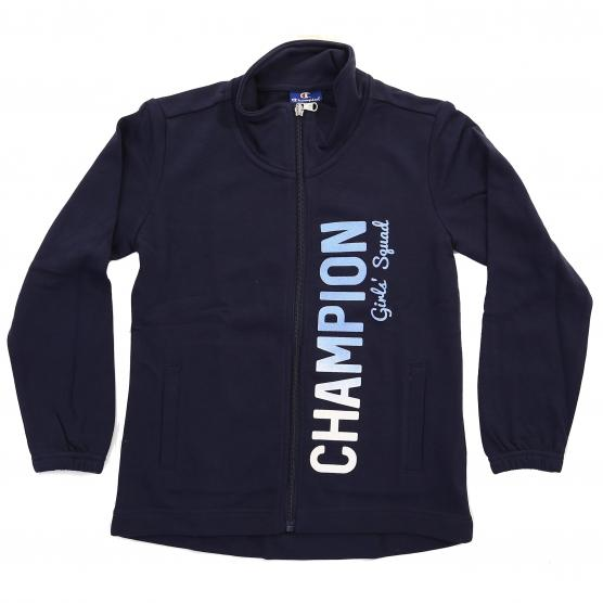 CHAMPION G-ZIP LUNGA  AUTH. TERRY GRAPH