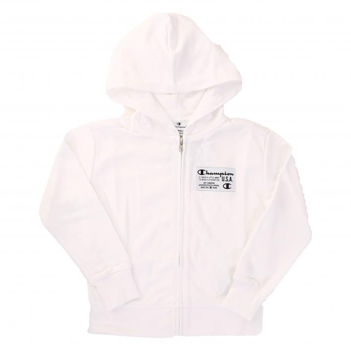 CHAMPION HOODED FULL ZIP SWETASHIRT