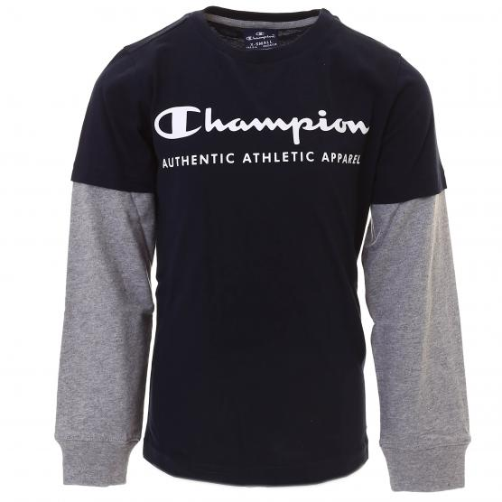 CHAMPION LONG SLEEVE CREWNECK T-SHIRT BS501