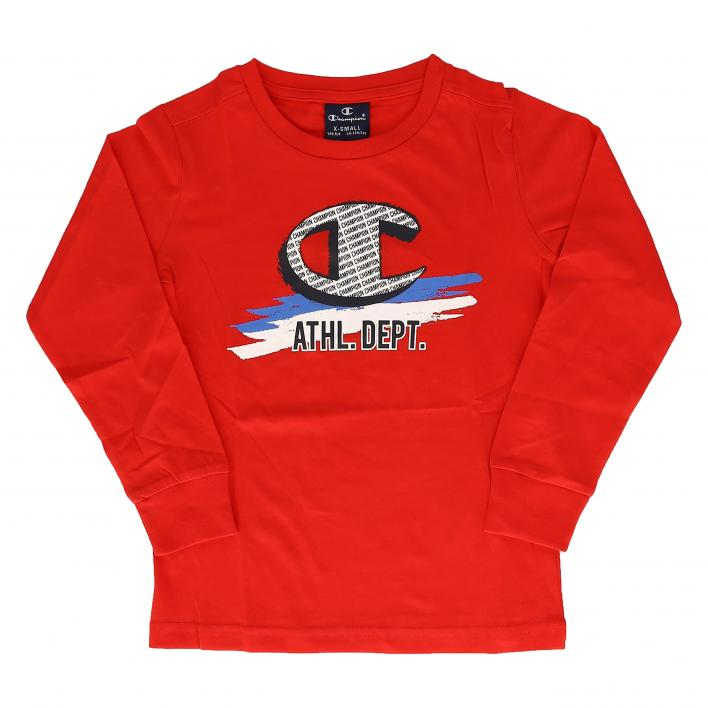 CHAMPION LONG SLEEVE CREWNECK T-SHIRT