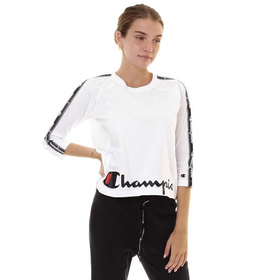 CHAMPION LONG SLEEVE CREWNECK T-SHIRTS