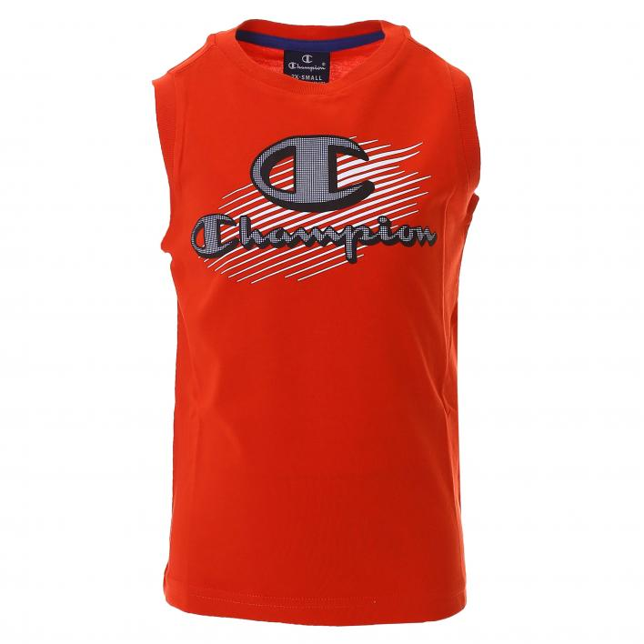 CHAMPION SLEEVELESS CREWNECK T-SHIRT