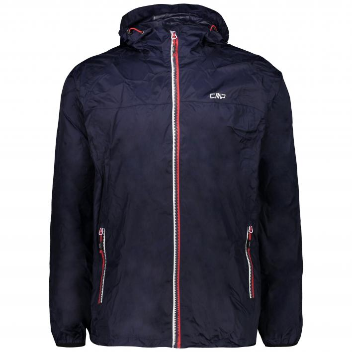 CMP MAN RAIN FIX HOOD JACKET