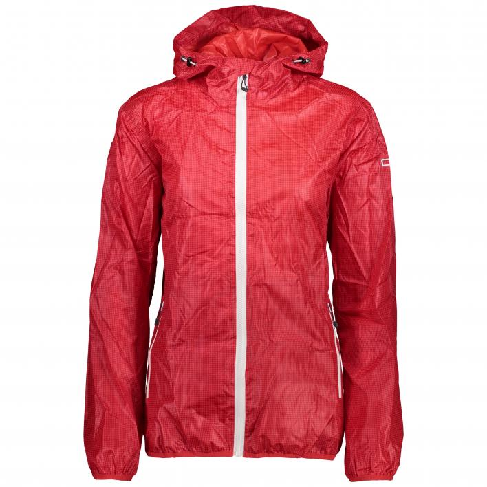 CMP WOMAN RAIN FIX HOOD JACKET