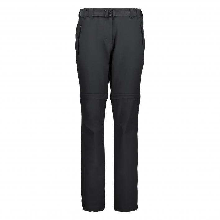 CMP ZIP OFF PANT STRETCH POLYESTER
