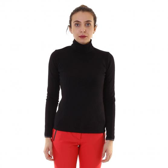 COLMAR ZIPPED COLLAR STRETCH JACQUARD FLEECE NADIR
