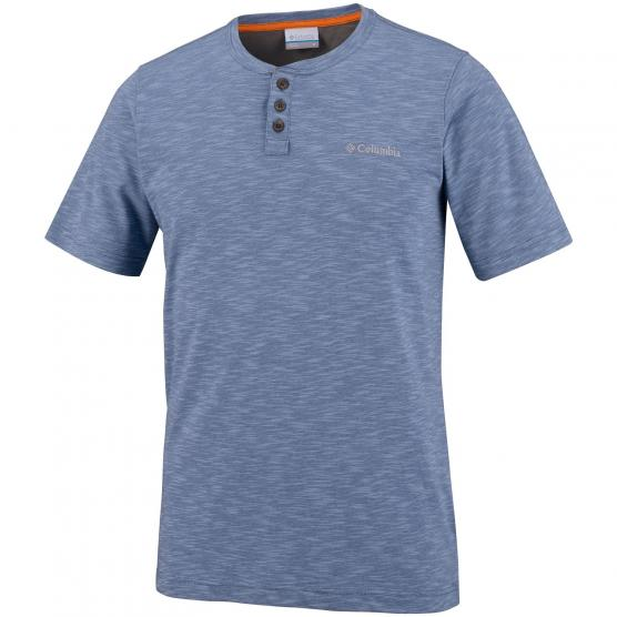 COLUMBIA LOOKOUT POINT SHORT SLEEVE HENLEY