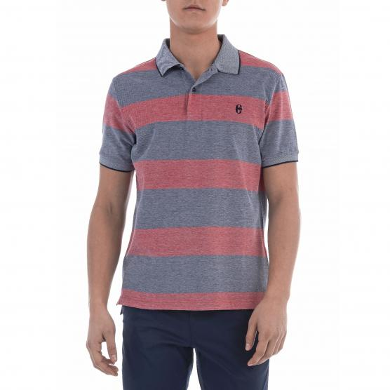 CONTE OF FLORENCE BLOUNT OX BIG STRIPE POLO