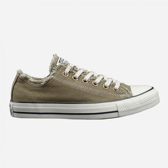 CONVERSE ALL STAR CTS OX DENIM OLIVE/PARCHMENT/SIL