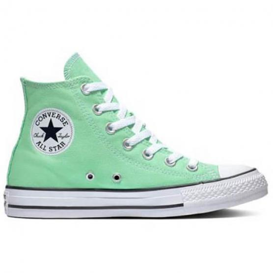 CONVERSE ALL STAR HI CANVAS LT APHID GREEN