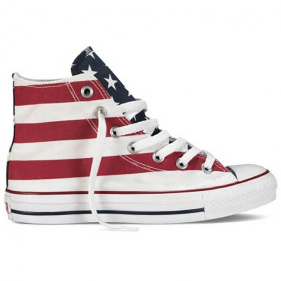 CONVERSE ALL STAR HI CANVAS PRINT STARS&BARS