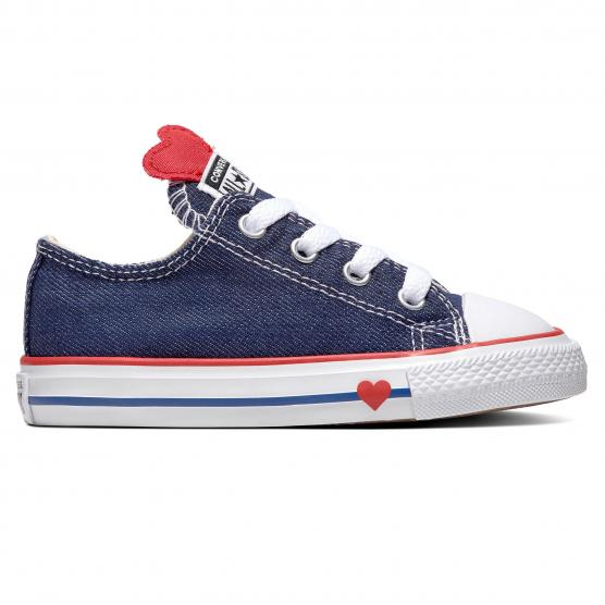 CONVERSE ALL STAR OX - (INF) RED/BLUE/NAVY
