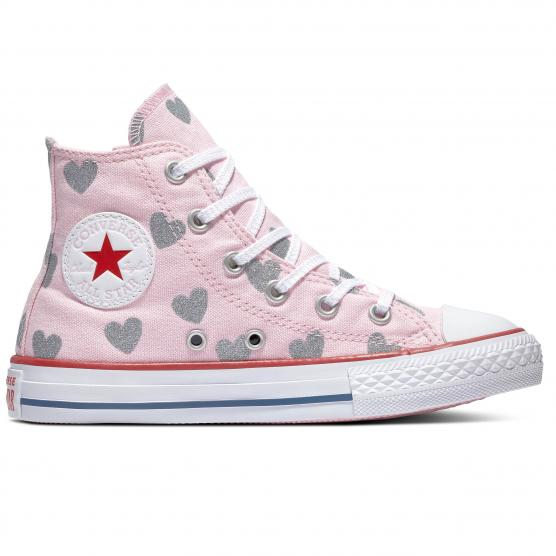 CONVERSE ALL STAR SIDE ZIP HI - (PS) CHERRY BLOSS