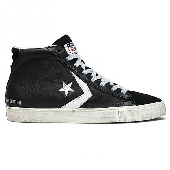 CONVERSE PRO LEATHER HI VULC DISTRESSED HI BK TURT ea52ccb2e02