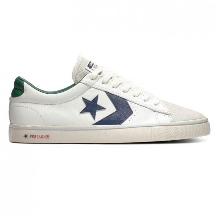 CONVERSE PRO LEATHER VULC OX OPTICAL WHITE