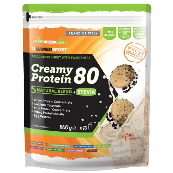 NAMEDSPORT Creamy Protein Cookies Cream 500g