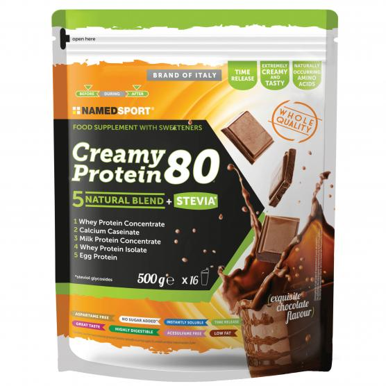 NAMEDSPORT Creamy Protein Exquisite Chocolate 500g