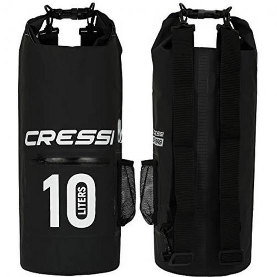 CRESSI DRY BAG 10 LT WITH ZIP
