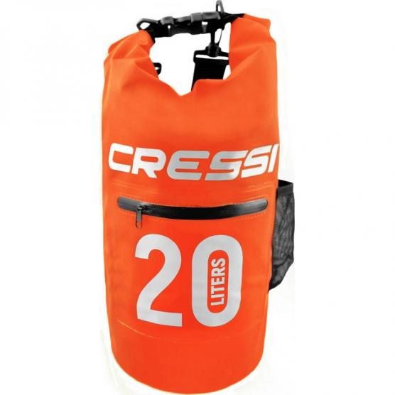 CRESSI DRY BAG 20 LT WITH ZIP