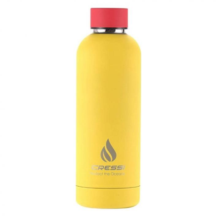 CRESSI RUBBER COATED THERMAL FLASK 7