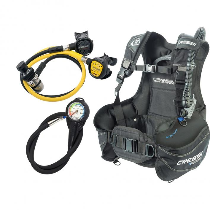 CRESSI START SCUBA SET DIN 13 TAGLIA L
