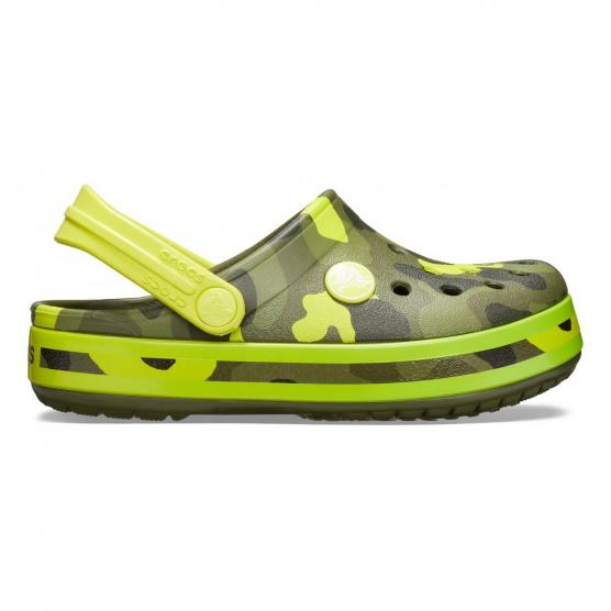 CROCS CROCBAND MULTI GRAPHIC CLOG K
