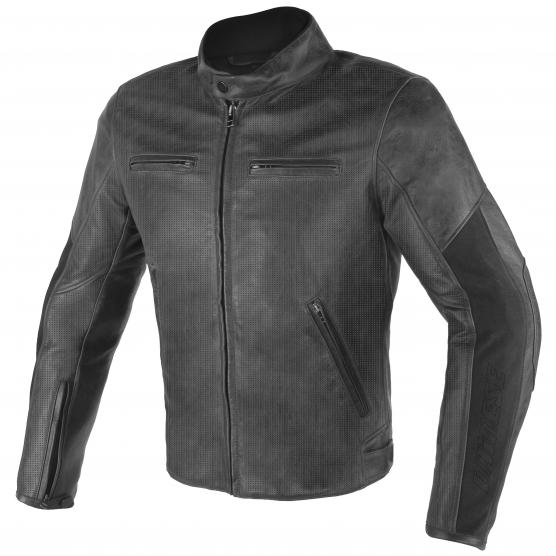 DAINESE Stripes D1 Perf. Leather Jacket
