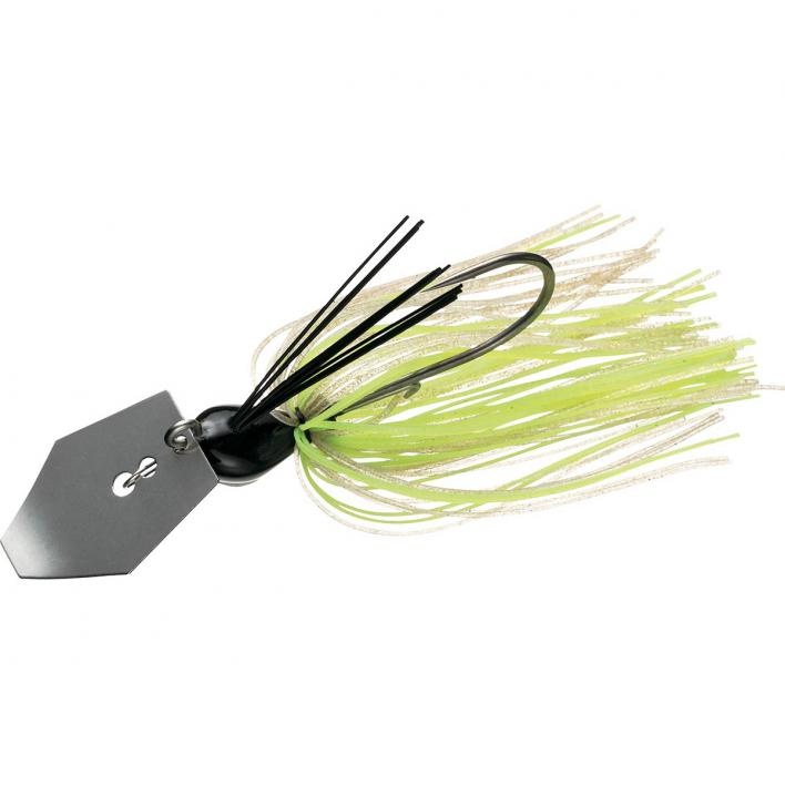 DAIWA STEEZ COVER CHATTER 3/8 WHITE CHARTREUSE